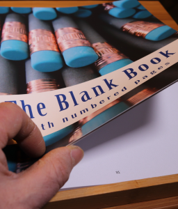 Picture of The Blank Book