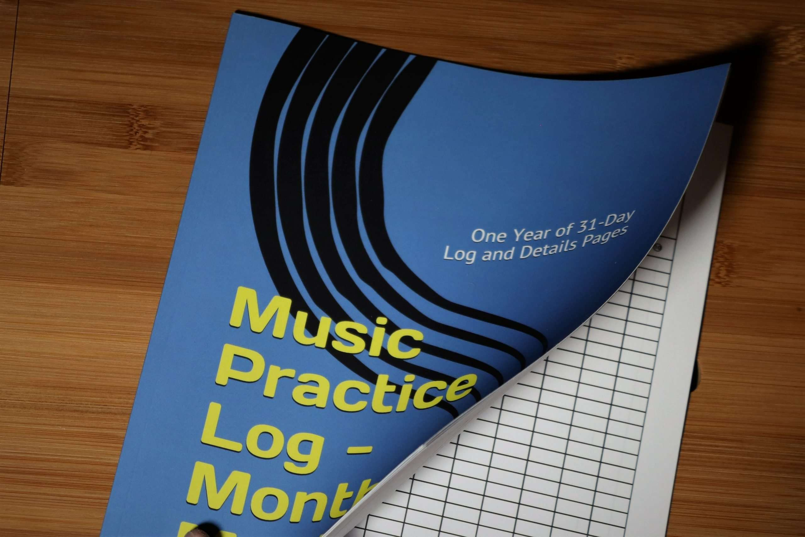 Music Practice Log - Month by Month