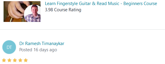 Learn Fingerstyle Guitar & Read Music Course Review
